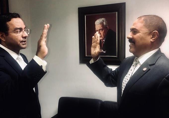Juramentan a Polanco director del sector externo en ultramar de Gonzalo y anuncia programa de precampaña