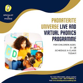 Phonics Programme for Children in Lagos