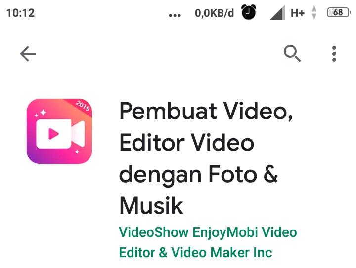 Aplikasi edit foto jadi video berlagu