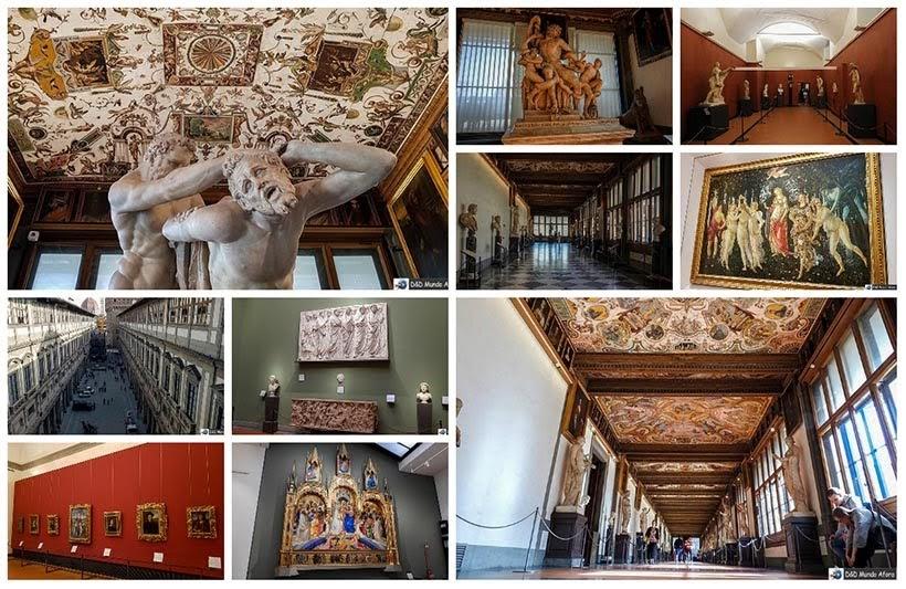Galeria Uffizi - Diário de bordo: 2 dias em Florença