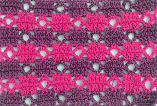 3 - Crochet Puntada de cuadrados a crochet y ganchillo Majovel Crocher baretas paso a paso doble facil sencillo