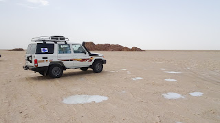 3 people per jeep to the tour in Danakil Depression