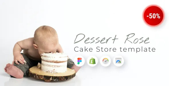 Best Responsive Cake Shop Shopify Theme