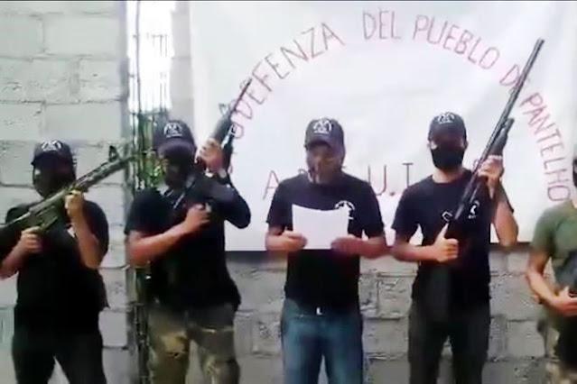 Video: Con AR-15 y tras enfrentamiento entre CDS y CJNG en Chiapas, surgen autodefensas para protegerse del narco y advierten no quieren al Gobierno, Militares ni Guardia Nacional