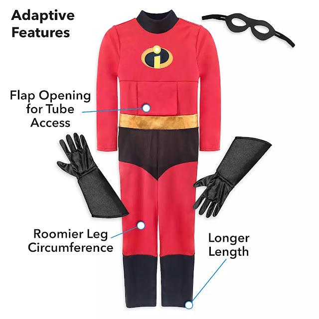 Disney Pixar Incredibles 2 Adaptive Costume
