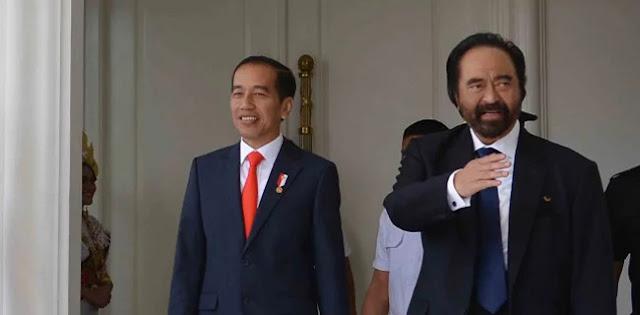 Keretakan Jokowi Dengan Surya Paloh Bukan Dibuat-buat