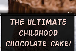 The ULTIMATE childhood chocolate cake! #chocolate #cake #chocolatecake #birthdaycake