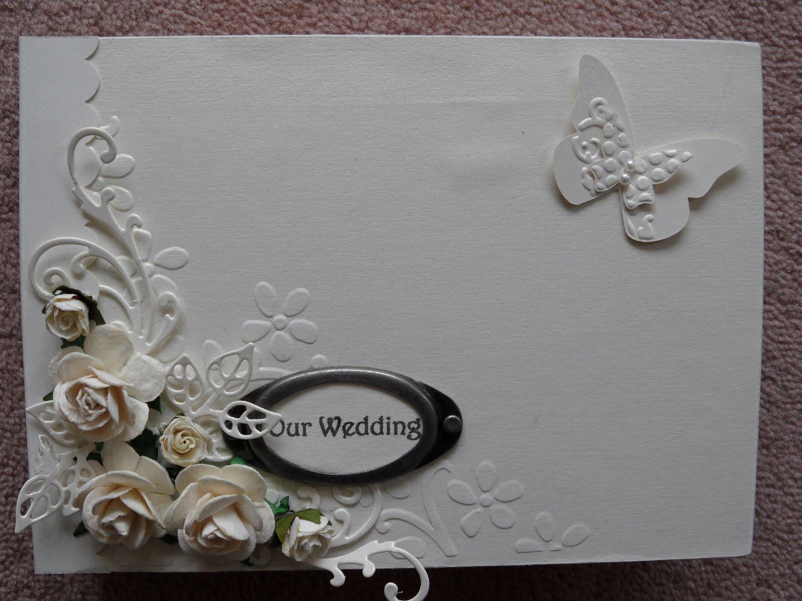 Craft Wedding Gifts: Linda's Craft Room: Wedding Gift Album
