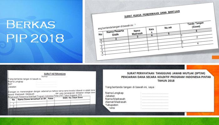 Contoh Format Surat Kuasa, Surat Keterangan dan SPTJM PIP 2018