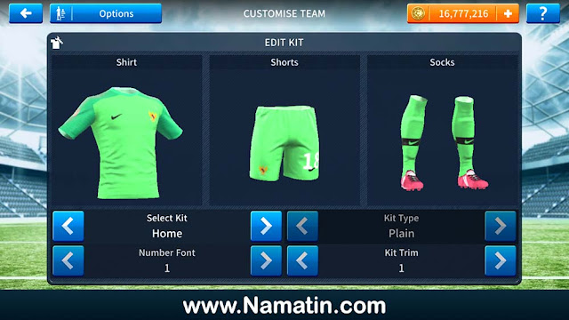 Kaos Dream League Soccer Timnas Indonesia