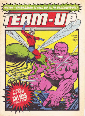 Team-Up #17, Ant-Man, Marvel UK