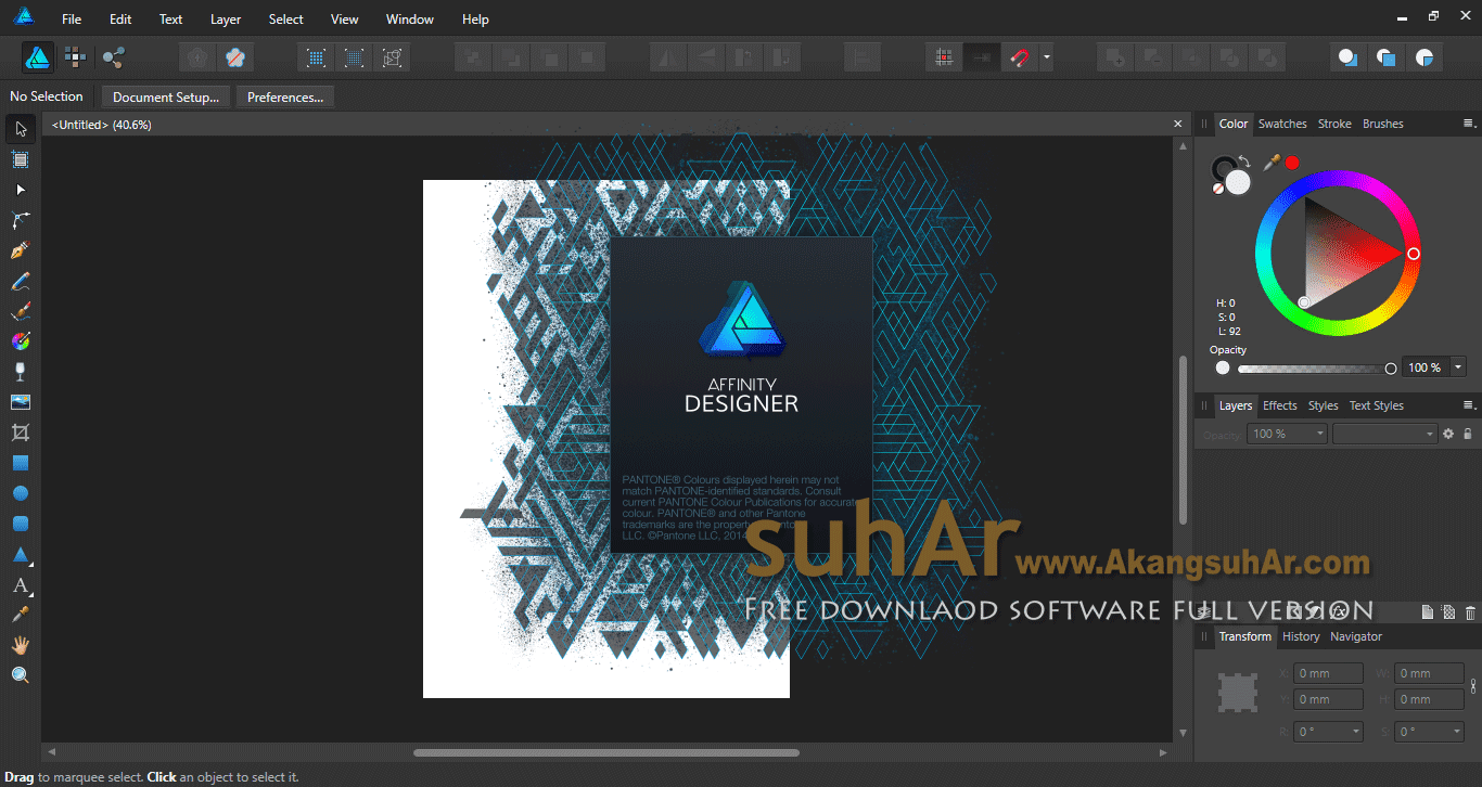 Download Serif Affinity Designer 2018 Final Latest Version, Serif Affinity Designer For PC WIndows, Serif Affinity Designer Offline Installer