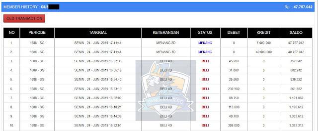 Jackpot Singapura 24 Juni 2019