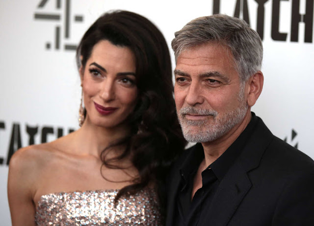 Amal and George Clooney are about to become parents again