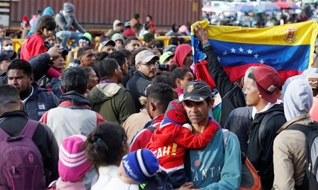 """""""Embajador"""" de Guaidó menciona que Colombia vacune a todos los migrantes"""
