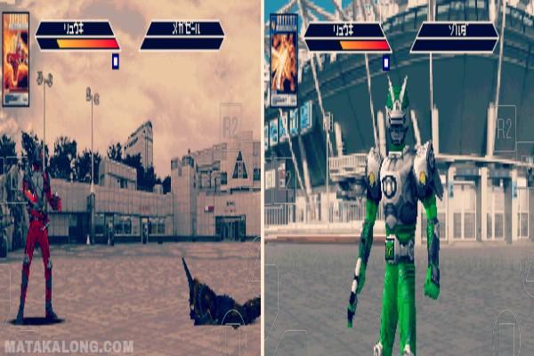 Cara Bermain Kamen Rider Ryuki PS1 Di Android