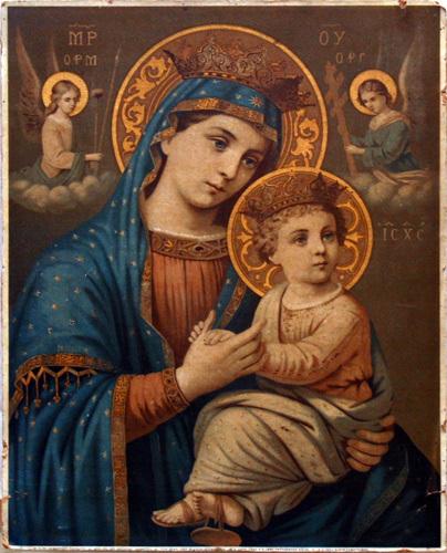 Znalezione obrazy dla zapytania: Matki Bożej Nieustającego Ratunku