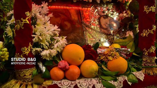 Γιορτάζει η Παναγία η Πορτοκαλούσα στο Άργος (βίντεο)