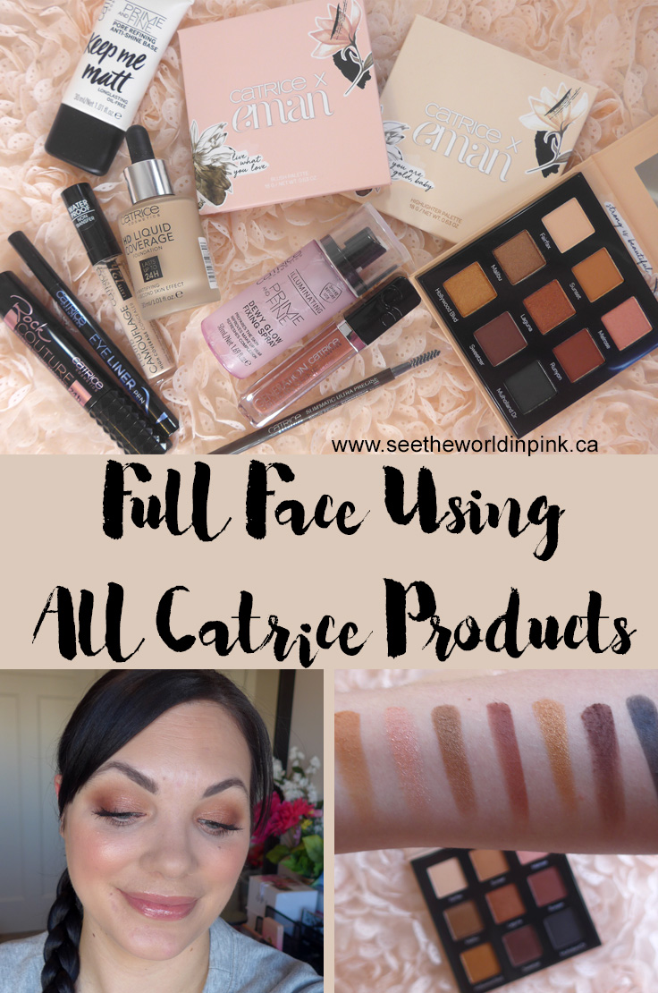 Full Face Using All Catrice Products