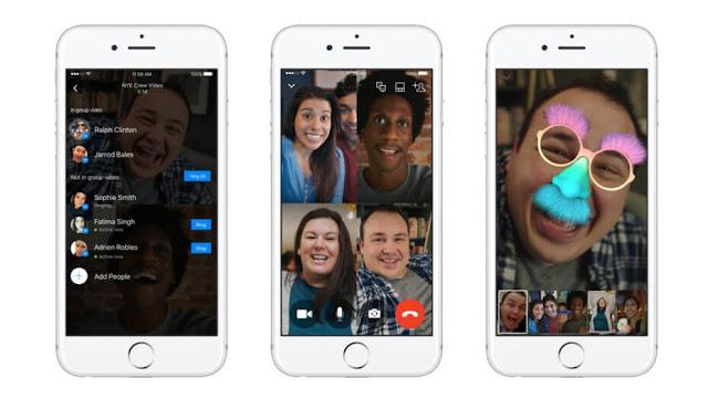 شركة,فايسبوك,Facebook,تطلق,ميزة,جديدة,مكالمات,الفيديو,جماعية,عبر,المسنجر