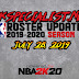 2KSPECIALIST'S NBA 2K19 ROSTER UPDATE (07.28.19) RELEASED!