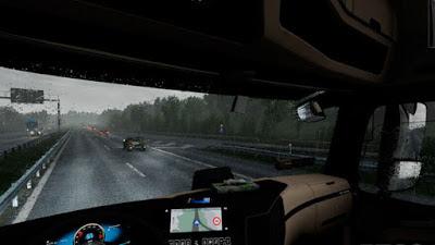 Realistic Rain v3.8 - ETS2 1.38-1.39