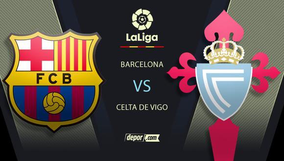 Barcelona vs. Celta de Vigo EN VIVO por ESPN: ver minuto a minuto por LaLiga