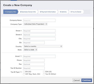 Formulir Informasi Perusahaan