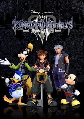 Capa do Kingdom Hearts 3: Re Mind