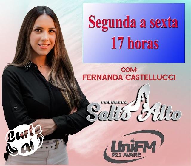 "FERNANDA CASTELLUCCI APRESENTA ""SALTO ALTO"""