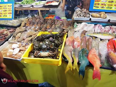 Makanan Laut Segar Waterfront Sabah