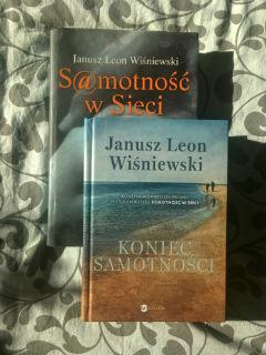 """w komplecie: """"Samotność w siecie"""" i """"Koniec samotności"""" Janusz Leon Wiśniewski, fot. paratexterka ©"""