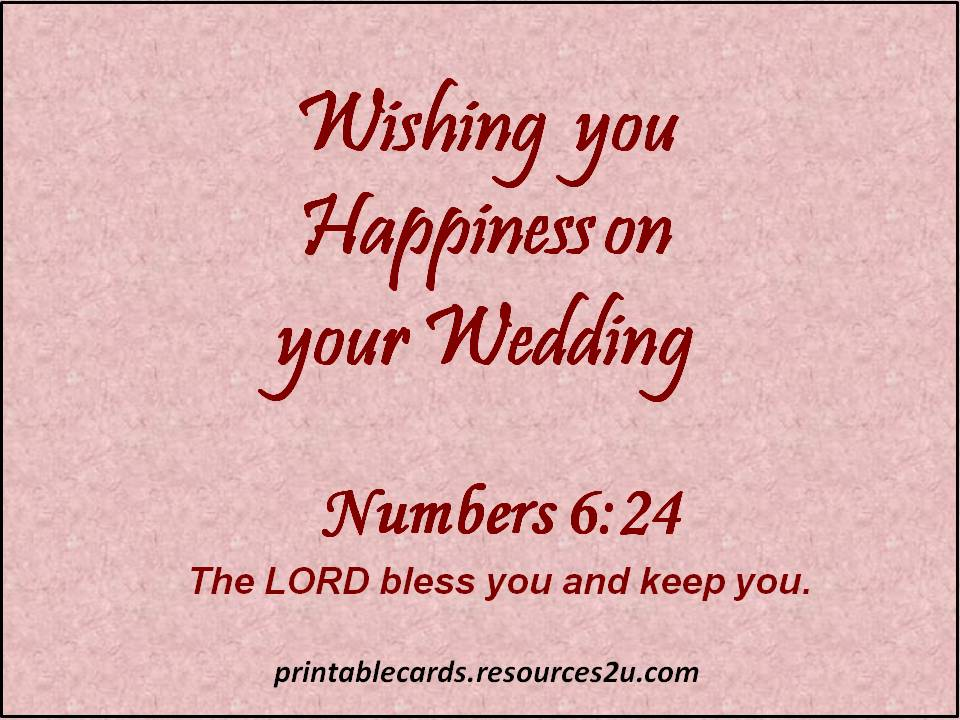 Image Result For Wedding Wishes Biblical Quotes