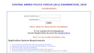 UPSC CAPF Exam 2018 - Few Days Left For Detailed Application Form
