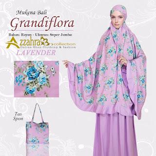 Gambar untuk Mukena Bali Super Jumbo Grandiflora Lavender