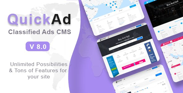 Download Quickad - Classified Ads CMS PHP Script
