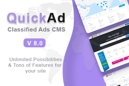 Quickad v8.2 - Classified Ads CMS PHP Script - nulled