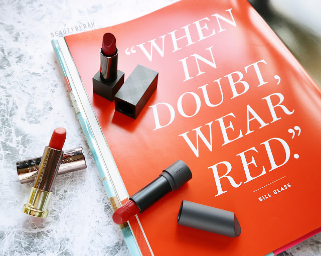 Top 3 Red lipsticks recommendation