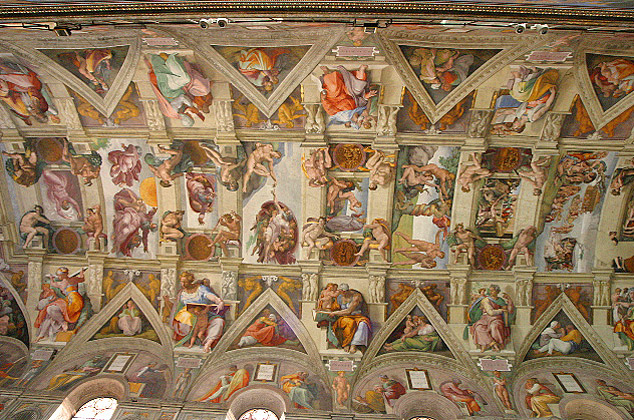 SISTINE CEILING MICHELANGELO « Ceiling Systems