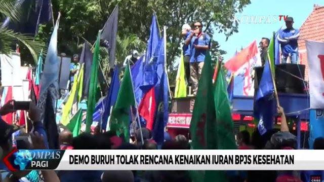 150 Ribu Buruh Daerah Bergerak Siap Demo Tolak Kenaikan BPJS