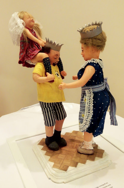 """Ирина Киреева (Тольятти) """"Что наша жизнь? Игра!""""  Выставка авторской куклы в Самаре """"Куклы. Эмоции. Чувства."""""""
