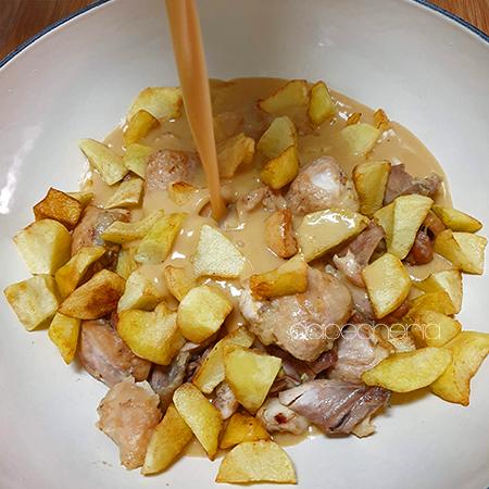 Escaldums de pollo, un delicioso plato de pollo