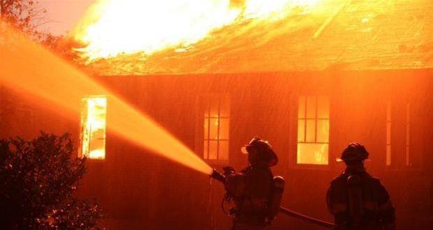 Κάηκε ολοσχερώς  σπίτι στο Ζαγκλιβέρι.