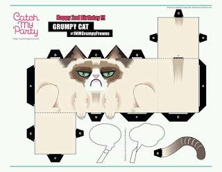 Cubeecraft gato gruñon para descargar gratis