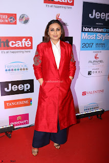 Red Carpet of Most Stylish Awards 2017 ~ Rani Mukherjee (2).JPG