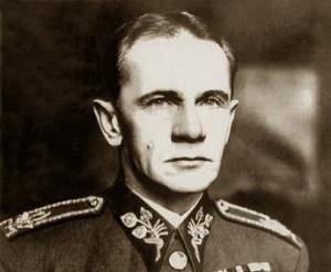 Попав в тяжелое положение которое по его мнению было несовместимо с генеральской честью
