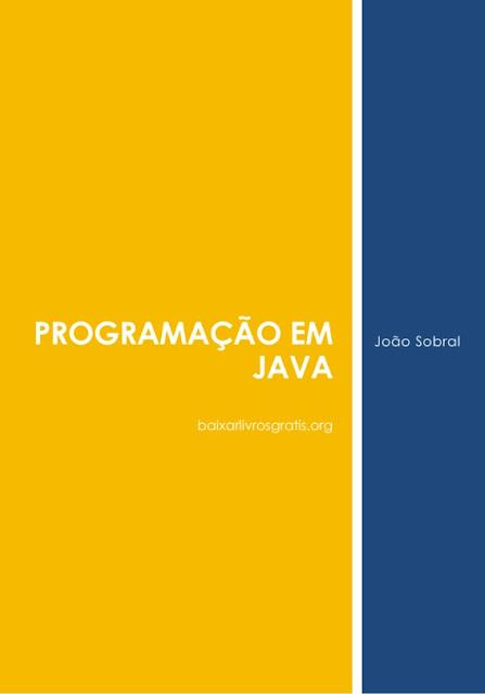 Programação em JAVA - João Sobral