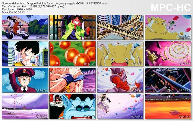 Descargar Dragon Ball Z La Fusión de Goku y Vegeta Mega y Mediafire