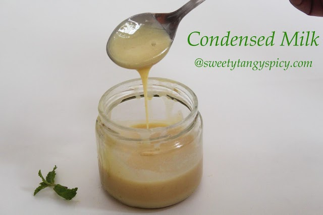 Homemade Sweetened Condensed Milk Recipe   How To Make Milkmaid/ Mithai Mate At Home