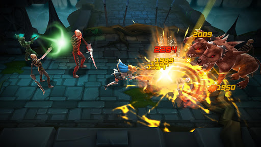 Blade Warrior MOD All Opened Characters Unlimited Golds Apk+Data(OBB)